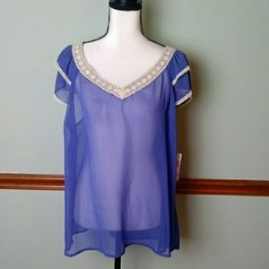 New A.N.A size 2x top
